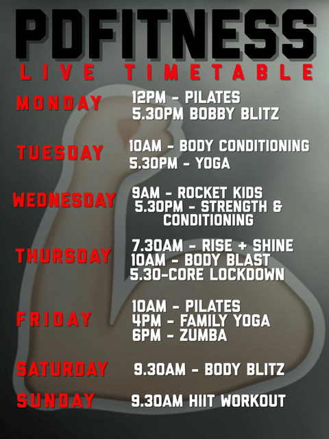 Live timetable